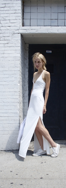 Ivory Maxi // OUTFIT | #outfit #white #fashion #industryfiles #shopping #beachanddress