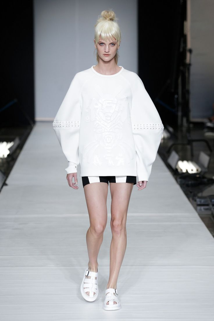 Copenhagen Fashion Week SS'14 | #fashion #cfw #collection #podium #show #industryfiles #beachanddress