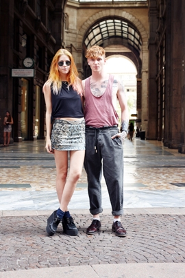 Cool couple? by Nerijus Paluckas photography | #milan #streetstyle #summer #style #lifestyle