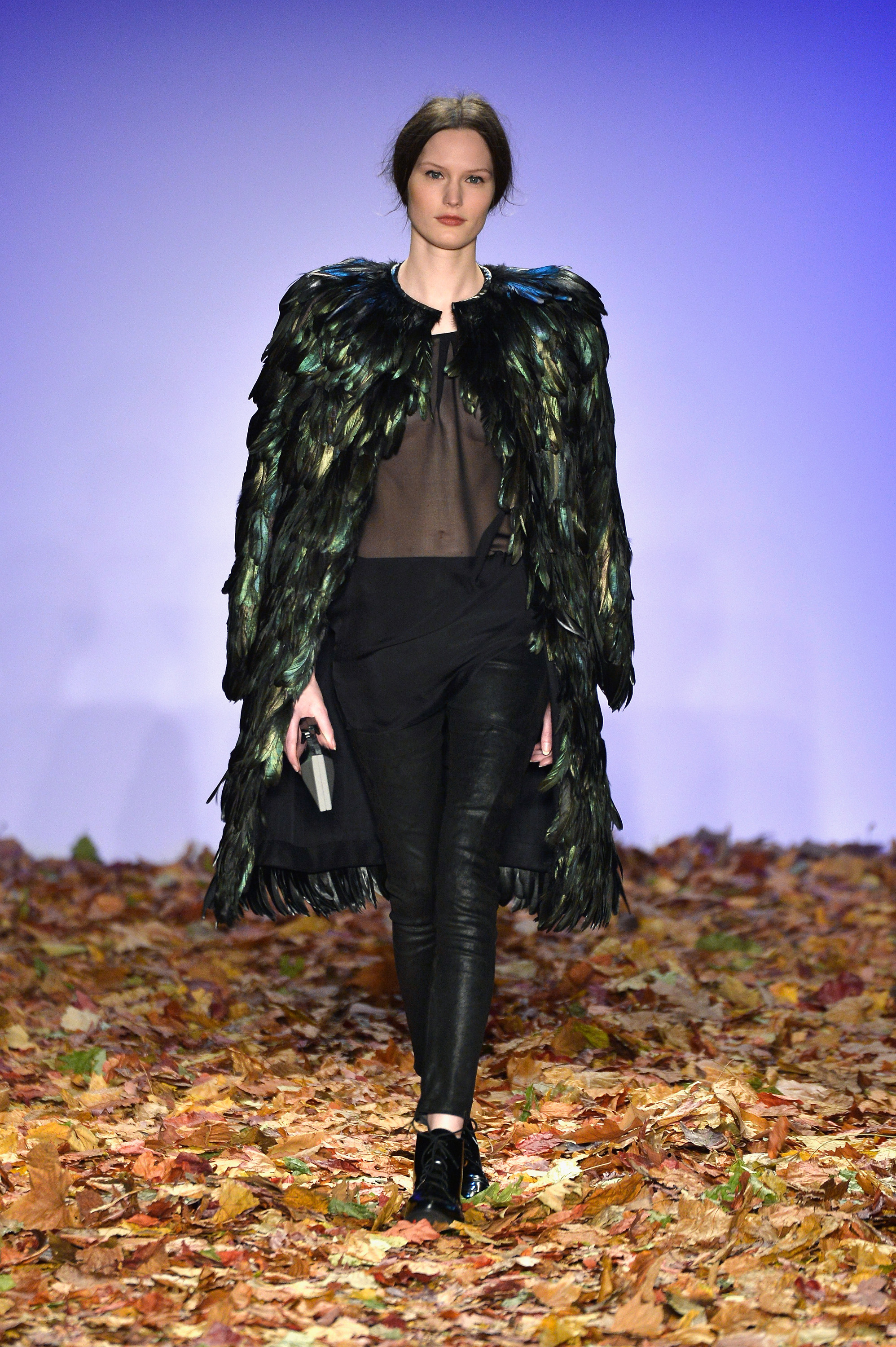 Dawid Tomaszewski Show - Mercedes-Benz Fashion Week Autumn/Winter 2014/15