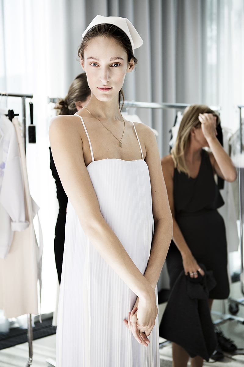 Designers Remix SS15 backstage